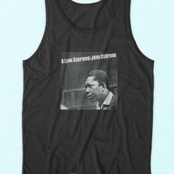 John Coltrane A Love Supreme Album Legend Tank Top