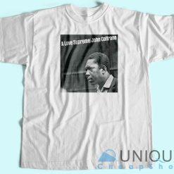 John Coltrane A Love Supreme Album T-Shirt