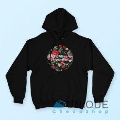 Arctic Monkey Flower Hoodie