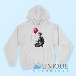 Bruno Mars Balloon Typography Hoodie