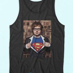 Ed Sheeran Superman Idea Tank Top