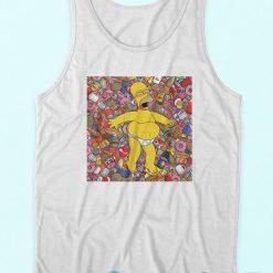 Homer Simpson Cartoon 90S Tank Top