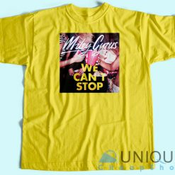 know We Can't Stop Miley Cyrus Album T-Shirt