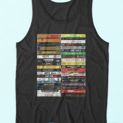 90's Hip Hop Cassette Tapes Tank Top