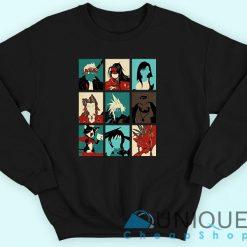 Final Fantasy Characters Sweatshirt
