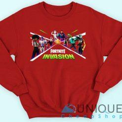 Fortnite Invasion Sweatshirt
