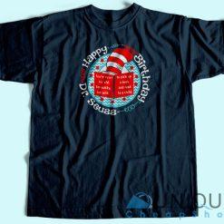 Dr Seuss Birthday T-Shirt