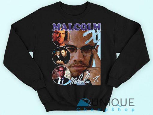 Malcolm X Bootleg Rap Sweatshirt