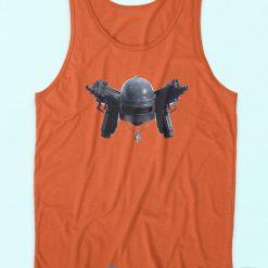 PUBG Helmet Tank Top