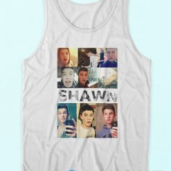 Shawn Mendes Collage Tank Top