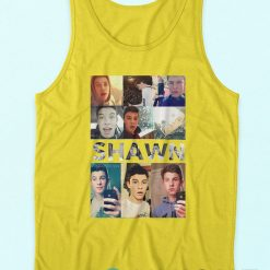 Now Shawn Mendes Collage Tank Top