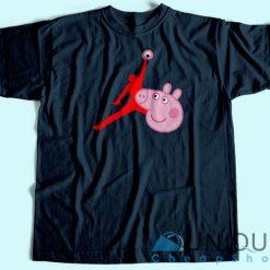 Air Jordan X Peppa Pig T-Shirts