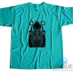 Assassination Classroom Koro Sensei T-Shirt Color Light Blue