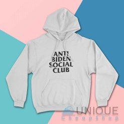 Anti Biden Social Club Hoodie
