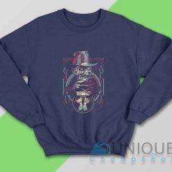 Freddy Krueger Sweatshirt Color Navy