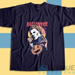 Halloween Michael Myers T-Shirt Color Navy