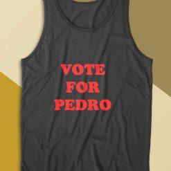 Vote For Pedro Tank Top Color Black